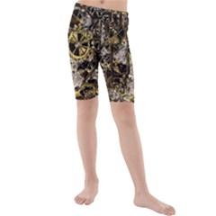 Metal Steampunk  Kid s swimwear