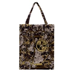Metal Steampunk  Classic Tote Bags