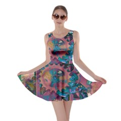 Steampunk Abstract Skater Dresses