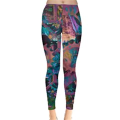 Steampunk Abstract Women s Leggings