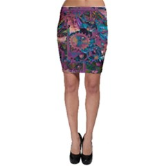 Steampunk Abstract Bodycon Skirts