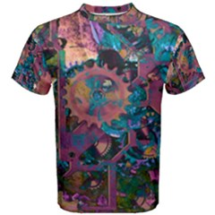 Steampunk Abstract Men s Cotton Tees
