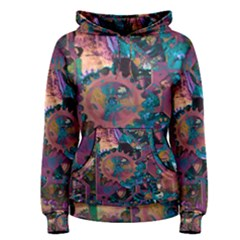 Steampunk Abstract Women s Pullover Hoodies