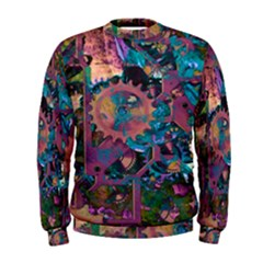 Steampunk Abstract Men s Sweatshirts