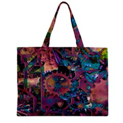 Steampunk Abstract Zipper Tiny Tote Bags