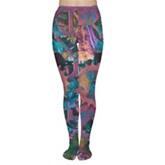 Steampunk Abstract Women s Tights