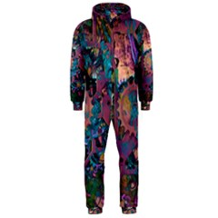 Steampunk Abstract Hooded Jumpsuit (men)