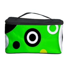 Florescent Green Yellow Abstract  Cosmetic Storage Cases