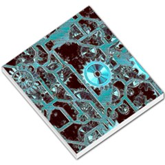 Steampunk Gears Turquoise Small Memo Pads