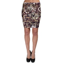 Steampunk 4 Soft Bodycon Skirts