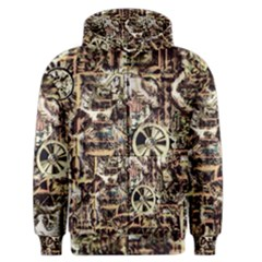 Steampunk 4 Soft Men s Zipper Hoodies