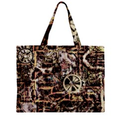 Steampunk 4 Soft Zipper Tiny Tote Bags