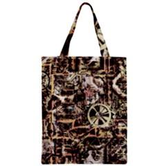Steampunk 4 Soft Zipper Classic Tote Bags