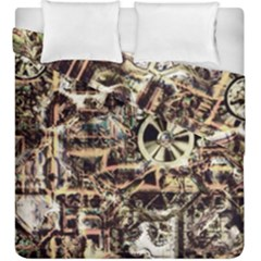 Steampunk 4 Soft Duvet Cover (king Size)