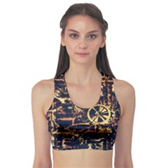 Steampunk 4 Sports Bra