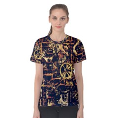 Steampunk 4 Women s Cotton Tees