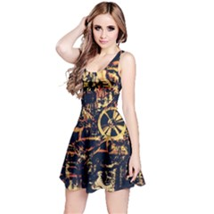 Steampunk 4 Reversible Sleeveless Dresses
