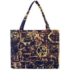 Steampunk 4 Tiny Tote Bags