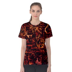 Steampunk 4 Terra Women s Cotton Tees