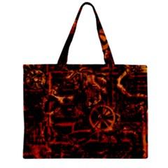 Steampunk 4 Terra Zipper Tiny Tote Bags