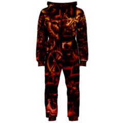 Steampunk 4 Terra Hooded Jumpsuit (Ladies)