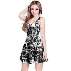Steampunk Bw Reversible Sleeveless Dresses