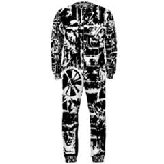 Steampunk Bw OnePiece Jumpsuit (Men)