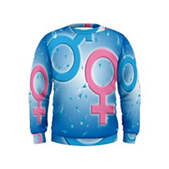 Sperm and Gender Symbols  Boys  Sweatshirts