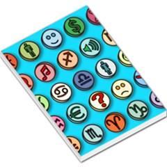 Emotion Pills Large Memo Pads