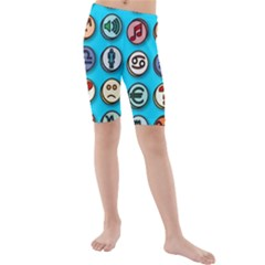 Emotion Pills Kid s swimwear