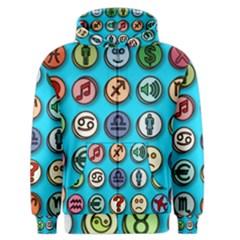 Emotion Pills Men s Zipper Hoodies