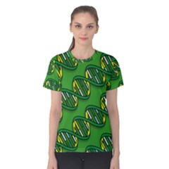 DNA Pattern Women s Cotton Tees