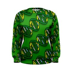 DNA Pattern Women s Sweatshirts