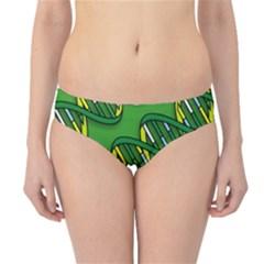 DNA Pattern Hipster Bikini Bottoms
