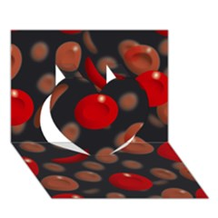 Blood Cells Heart 3d Greeting Card (7x5)