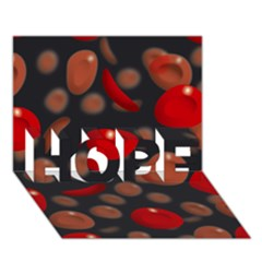 Blood Cells HOPE 3D Greeting Card (7x5)