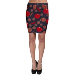 Blood Cells Bodycon Skirts