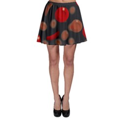 Blood Cells Skater Skirts