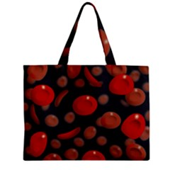 Blood Cells Zipper Tiny Tote Bags