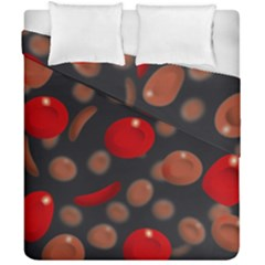 Blood Cells Duvet Cover (double Size)