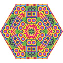 Colorful shapes in rhombus pattern Umbrella
