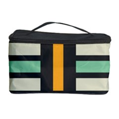 Mirrored Rectangles In Retro Colors Cosmetic Storage Case