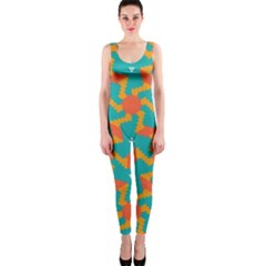 Sun pattern OnePiece Catsuit