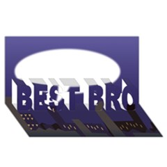 City Speech  Best Bro 3d Greeting Card (8x4)