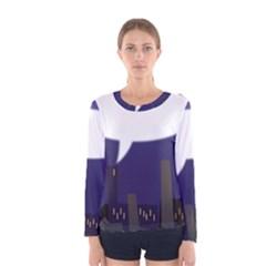 City Speech  Women s Long Sleeve T-shirts