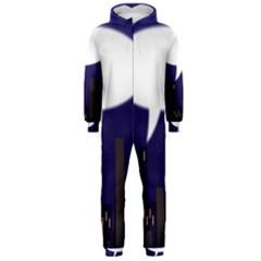 City Speech  Hooded Jumpsuit (men)