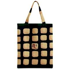 Crowd  Zipper Classic Tote Bags