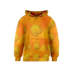 Dandelion Pattern Kid s Pullover Hoodies