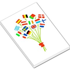 Flag Bouquet Large Memo Pads