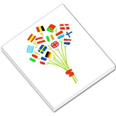Flag Bouquet Small Memo Pads